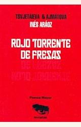 Papel ROJO TORRENTE DE FRESAS