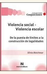 Papel VIOLENCIA SOCIAL-VIOLENCIA ESCOLAR