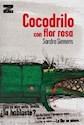 Libro Cocodrilo Con Flor Rosa