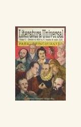 Papel LITERATURA UNIVERSAL TOMO I PARA PRINCIPIANTES
