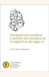 Papel SOCIEDAD DEMOCRATICA Y POLITICA DEMOCRATICA EN LA ARGENT....
