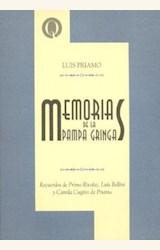 Papel MEMORIAS DE LA PAMPA GRINGA