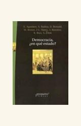 Papel DEMOCRACIA, EN QUE ESTADO?