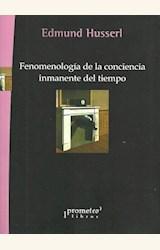 Papel FENOMENOLOGIA DE LA CONCIENCIA INMANENTE DEL TIEMPO