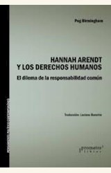 Papel HANNAH ARENDT Y LOS DERECHOS HUMANOS