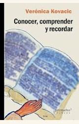 Papel CONOCER, COMPRENDER Y RECORDAR