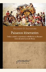 Papel PAISANOS ITINERANTES