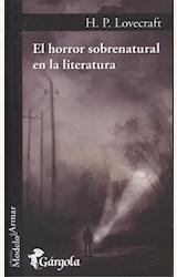 Papel EL HORROR SOBRENATURAL EN LA LITERATURA