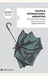 Papel POLÍTICA INTERNACIONAL ARGENTINA