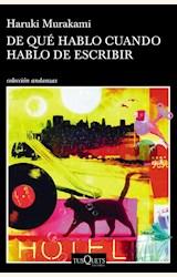 Papel DE QUE HABLO CUANDO HABLO DE ESCRIBIR