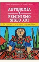 Papel AUTONOMÍA Y FEMINISMO SIGLO XXI