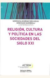 Papel RELIGION, CULTURA Y POLITICA EN LAS SOCIEDADES DEL SIGLO XXI