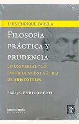 Papel FILOSOFIA PRACTICA Y PRUDENCIA