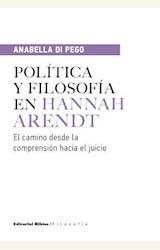 Papel POLITICA Y FILOSOFIA EN HANNAH ARENDT