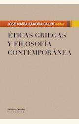 Papel ETICAS GRIEGAS Y FILOSOFIA CONTEMPORANEA