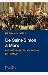 Papel DE SAINT-SIMON A MARX