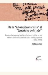 Papel DE LA SUBVERSION MARXISTA AL TERRORISMO DE ESTADO
