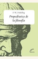 Papel PROPEDÉUTICA DE LA FILOSOFÍA