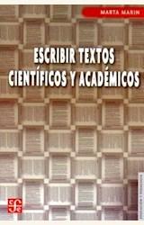 Papel ESCRIBIR TEXTOS CIENTIFICOS Y ACADEMICOS