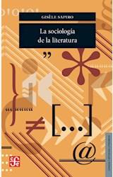 Papel LA SOCIOLOGIA DE LA LITERATURA