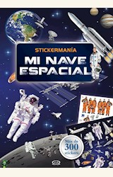 Papel STICKERMANIA, MI NAVE ESPACIAL