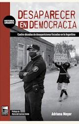 Papel DESAPARECER EN DEMOCRACIA