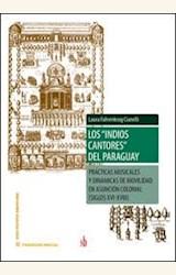 """Papel LOS """"INDIOS CANTORES"""" DEL PARAGUAY"""