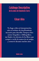 Papel CATÁLOGO DESCRIPTIVO DE LA OBRA DE EMETERIO CERRO