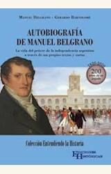Papel AUTOBIOGRAFÍA DE MANUEL BELGRANO