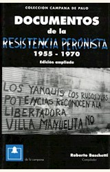 Papel DOCUMENTOS DE LA RESISTENCIA PERONISTA 1955-1970