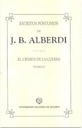 Papel ESCRITOS POSTUMOS II(ALBERDI)