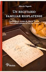 Papel UN RECETARIO FAMILIAR RIOPLATENSE