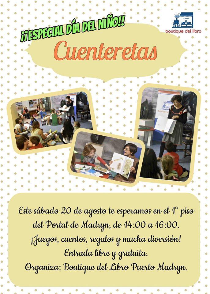 """Cuenteretas. Edición especial """"Dia del Niño"""""""