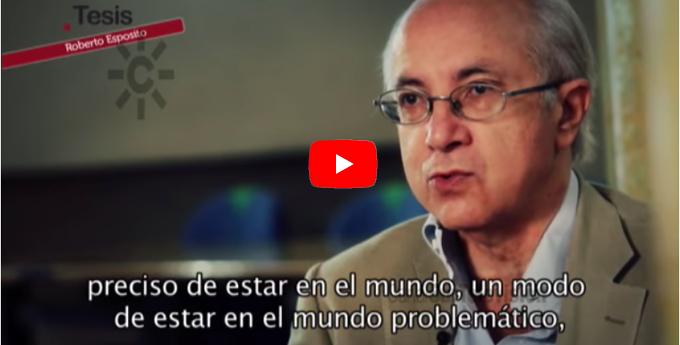 Roberto Esposito. Filosofía de vida.