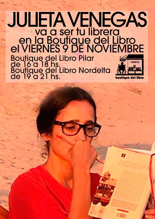 Julieta Venegas va a ser tu librera