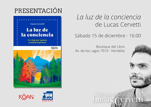 """Presentacion del libro """"La luz de la conciencia"""""""