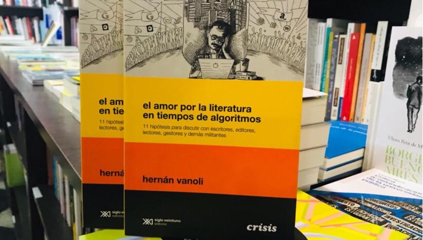 """Hernán Vanoli: """"La literatura siempre fue un catalejo privilegiado para mirar al poder"""""""