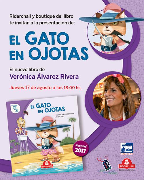 """Presentacion del libro """"El gato en ojotas"""""""