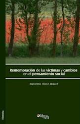 Rememoración de las víctimas y cambios en el pensamiento social