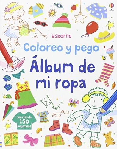 ALBUM DE MI ROPA COLOREO Y PEGO