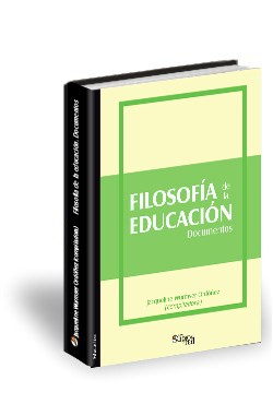 Libro Filosofía de la educación. Documentos