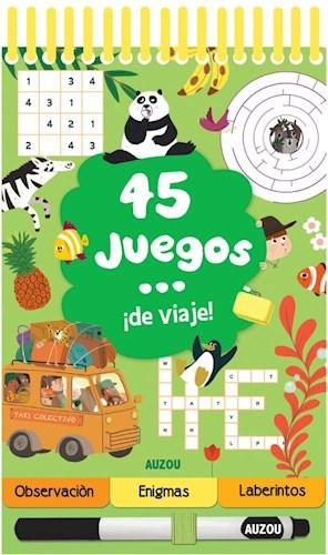45 JUEGOS DE VIAJE