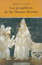 JEROGLIFICOS DE SIR THOMAS BROWNE, LOS
