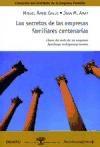 SECRETOS DE LAS EMPRESAS FAMILIARES CENTENARIAS,