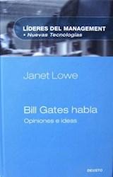 BILL GATES HABLA
