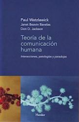 TEORIA DE LA COMUNICACION HUMANA