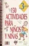150 ACTIVIDADES PARA NIÑOS 3 AÑOS
