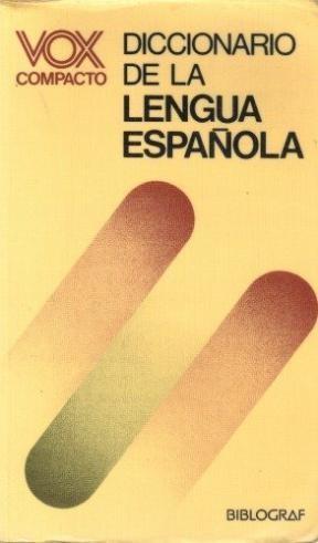 VOX COMPACTO DE LA LENGUA ESPAÑOLA