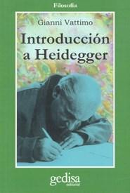 INTRODUCCION A HEIDEGGER