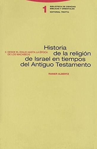 HISTORIA DE LA RELIGION DE ISRAEL... T2